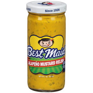 Jalapeño Mustard Relish 8 fl. oz. Bottle