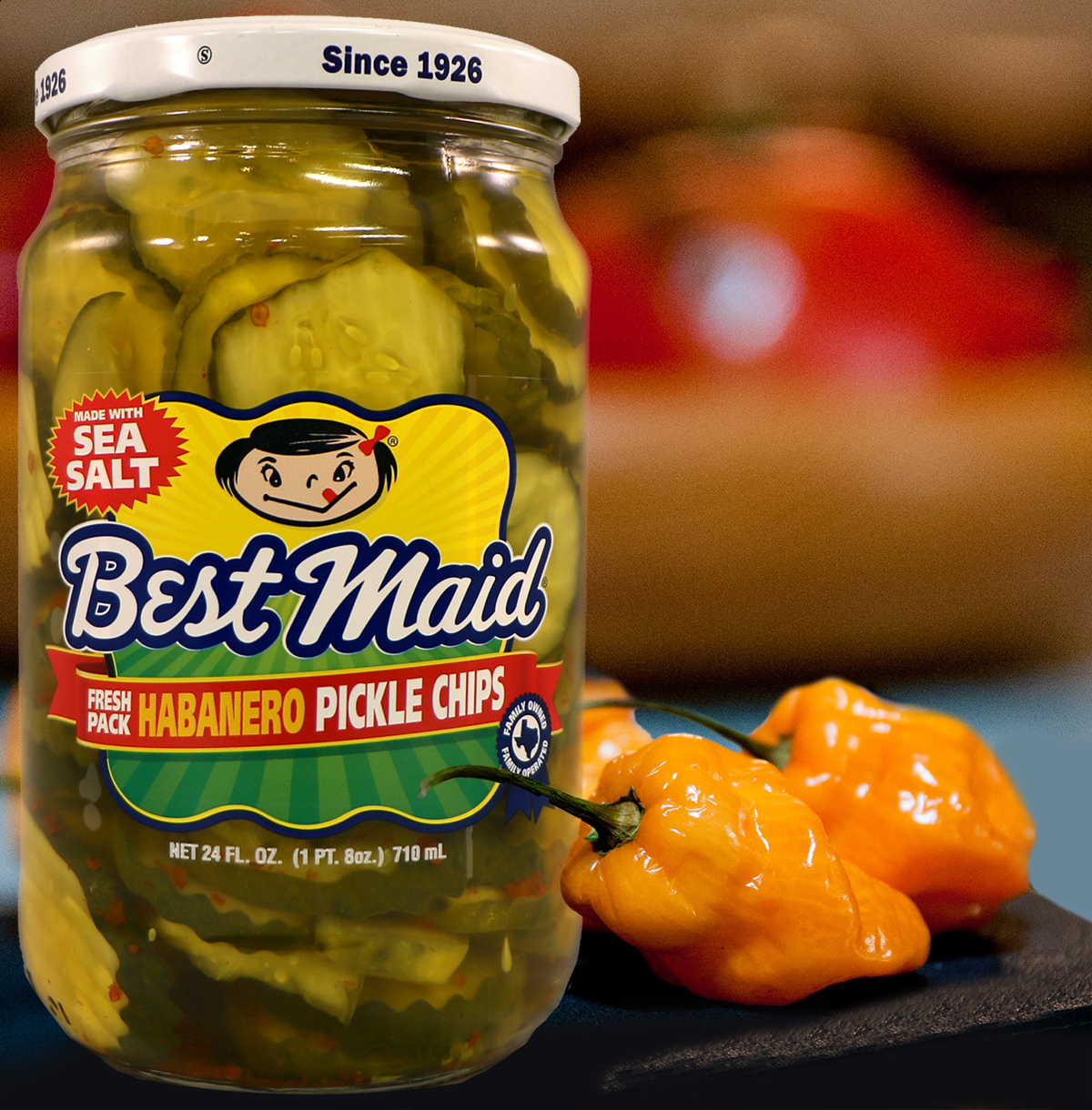 Best Maid Habanero Pickle Chips