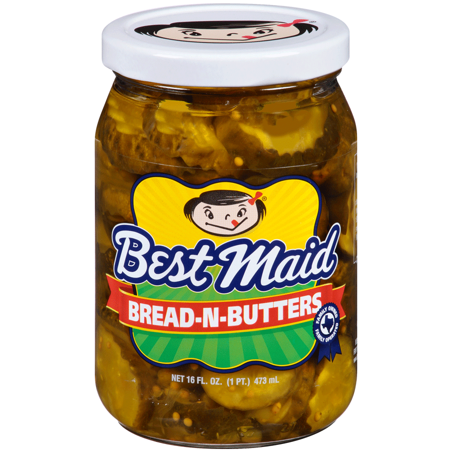 Best Maid Bread-N-Butters Pickles 32oz Jar