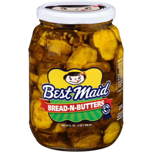Bread-N-Butter Pickles Slices 32oz Jar