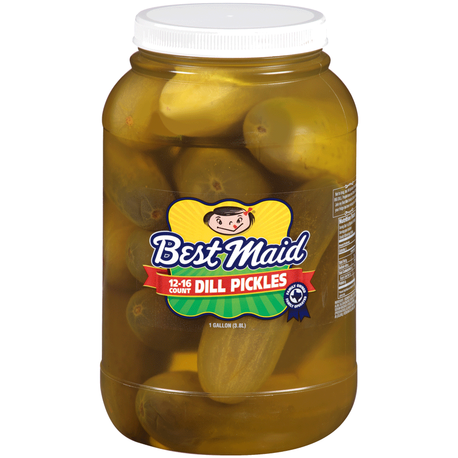 Dill Pickles 1 Gallon 12-16 Count