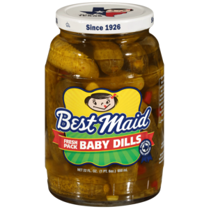 Baby Dill Pickles 22oz Jar