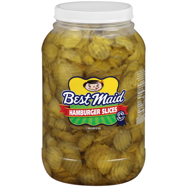 Best Maid Hamburger Slices 1 Gallon