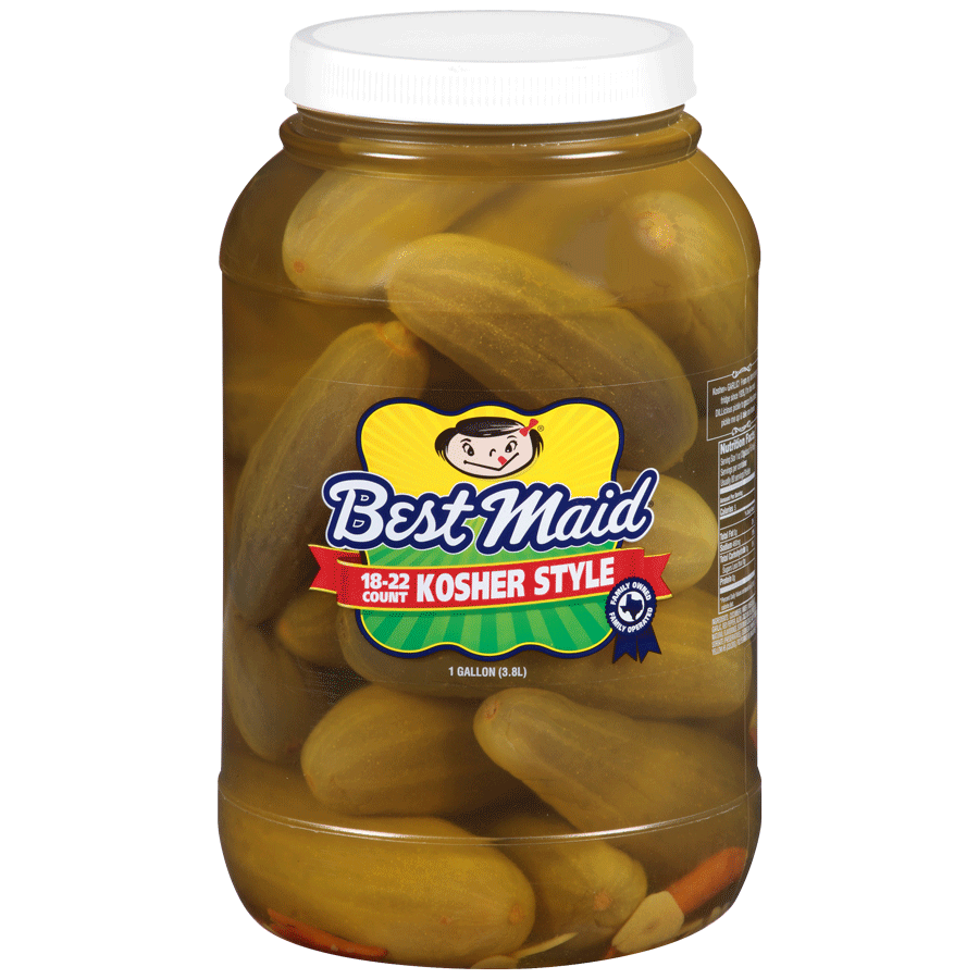 Kosher Style Pickle 1gal Jar