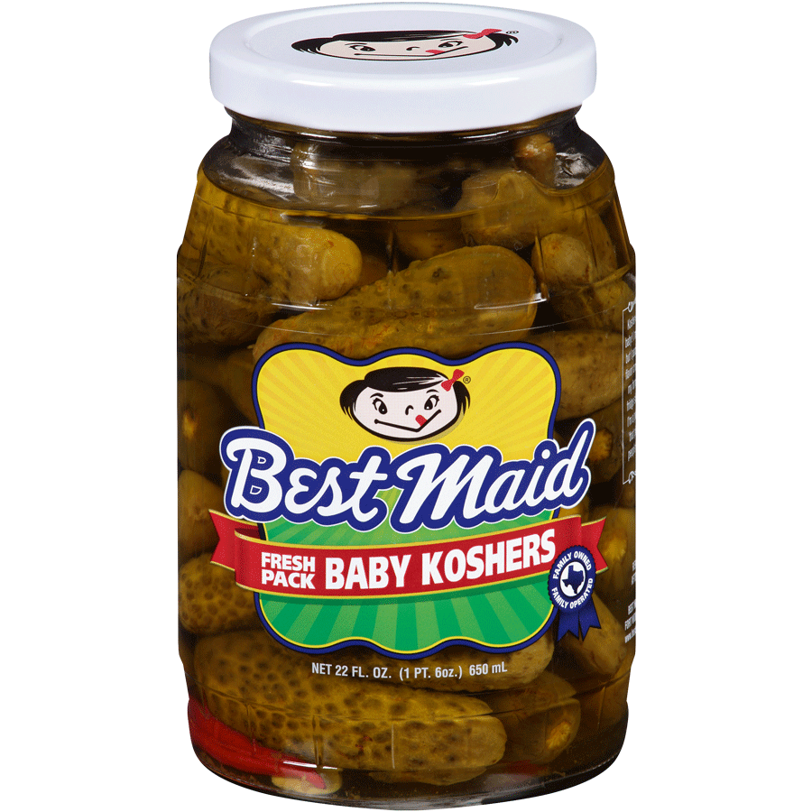 Baby Pickles in your choice of flavor.