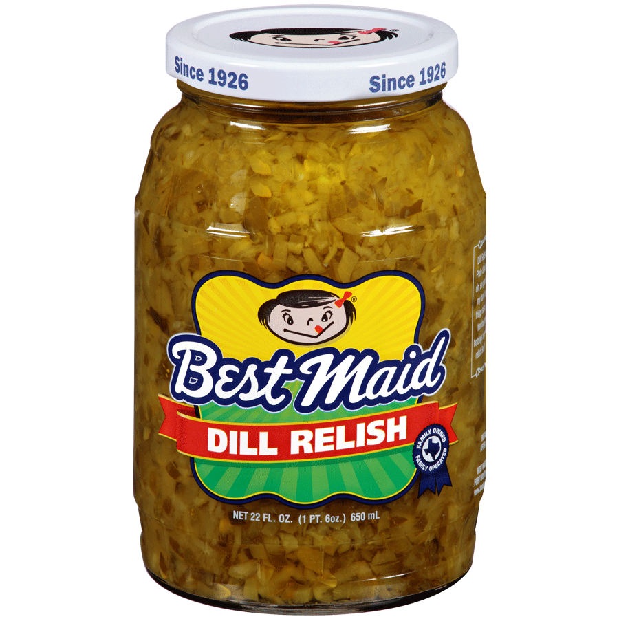 Dill Relish in an 22oz Jar