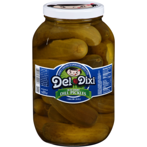 Del-Dixi® Dill Pickles 18-22 ct. 1 gal. Jar