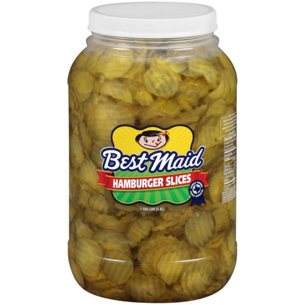 Best Maid Pickles 1 Gallon Hamburger Slices