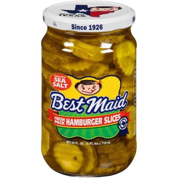 Best Maid Pickles 24 Ounce Hamburger Slices