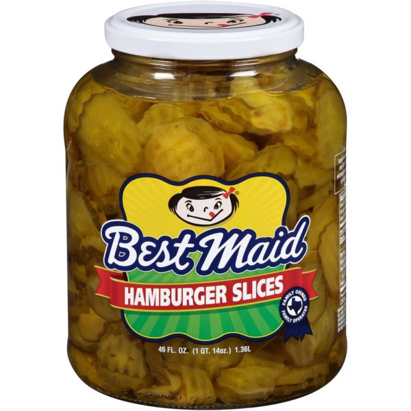 Best Maid Pickles 46 Ounce Hamburger Slices