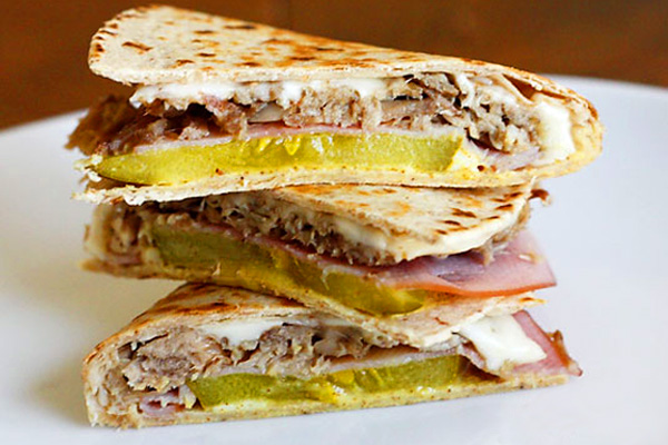 Cuban Quesadilla