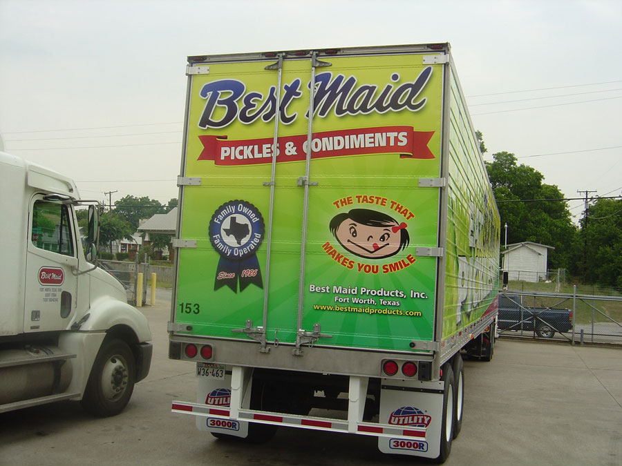 New Best Maid Truck Livery