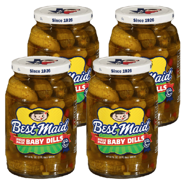 Baby Dill 4 Pack 22oz