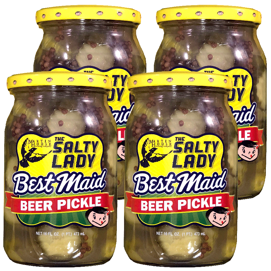 Beer Pickle 16 oz 4 Pack