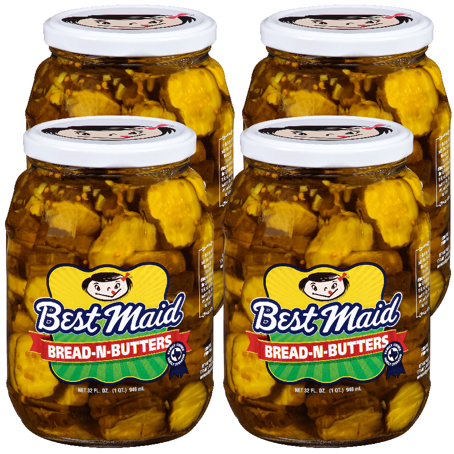 Bread-N-Butters 32oz 4-Pack