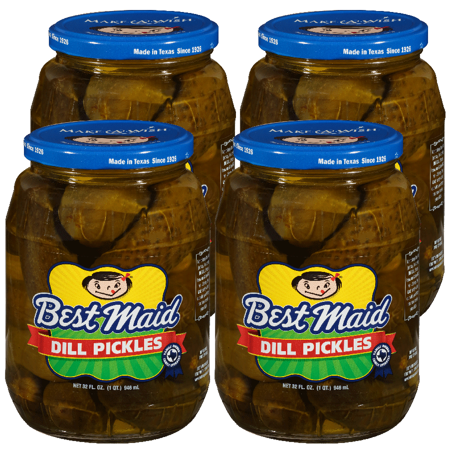 Dill Pickles 32oz 4 Pack