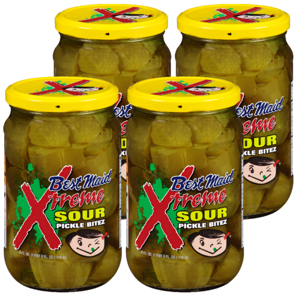 Xtreme Sour Pickles 4 pack