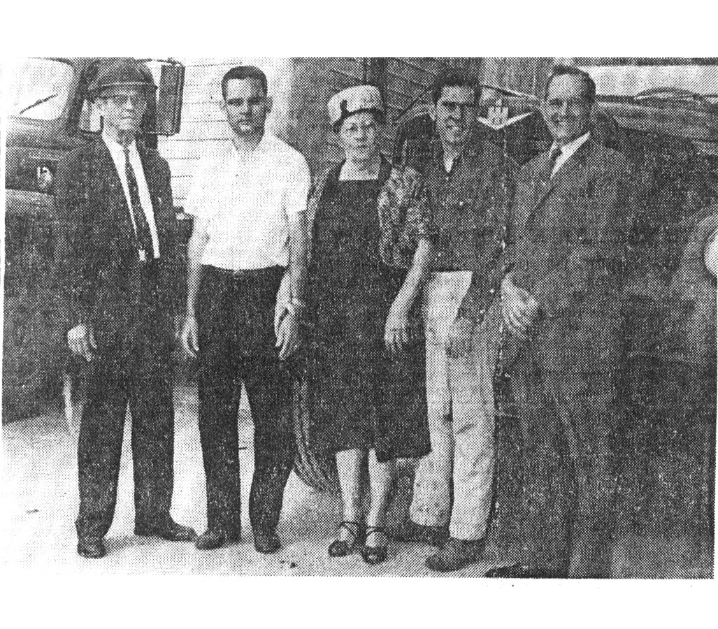 Gary Dalton, grandson of the founders, begins working at Best Maid. He loads trucks and remembers unloading boxcars of glass, salt stock, and other raw materials in bulk. He later moves to sales after working in virtually every area of the plant. (Left to Right: Jessie Otis Dalton, Gary Dalton, Mildred Dalton)