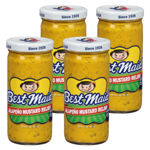 Jalepenjo Mustard Relish 12 oz 4 Pack