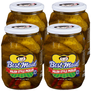 Polish Style Pickles 32 oz 4 Pack