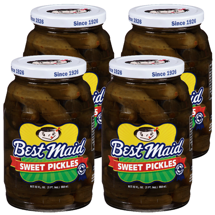 Sweet Pickles 22 oz 4 pack