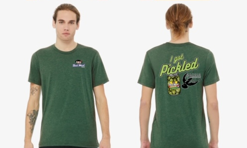Sour Pickle Beer T-Shirt-Green