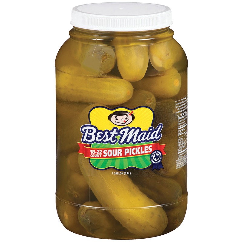 Sour Pickles 1 Gallon 18-22 Count