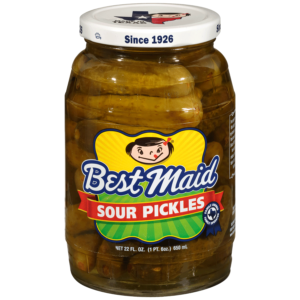 Best Maid Sour Pickles 22 Ounce Jar